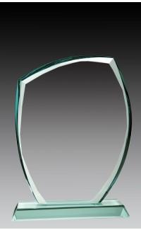 "Glass Peaked Corner, 6 3/4"""