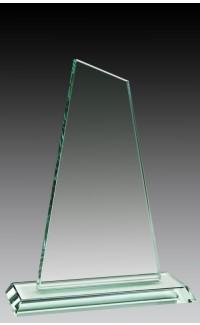 "Jade Glass Tower, 8 1/4"""