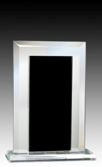 Glass Mirror Black 6.25""