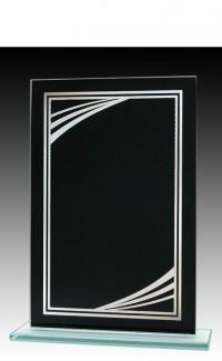 "Black/Silver Modern 6.75"""