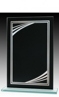 "Black/Silver Modern 7.5"""