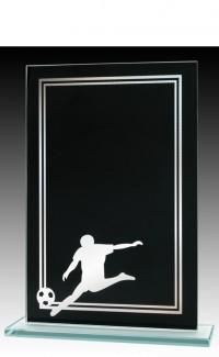 """Black/Silver Soccer 7.5"""""""