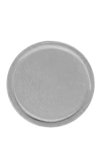 Lapel Pin Insert Holder, 30mm Bright Silver