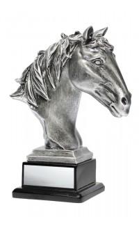 "Horse Head Resin 7.875"""