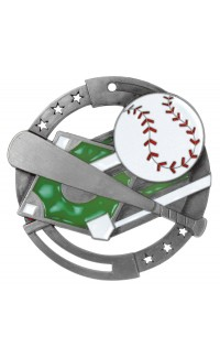 Baseball Colour Enamel, Silver