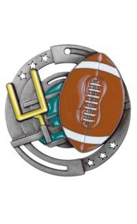Football Colour Enamel, Silver