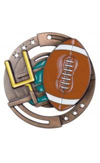 Football Colour Enamel, Bronze