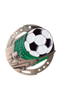 Soccer Colour Enamel, Bronze