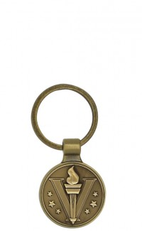 KEY CHAIN ROUND WITH MATRIX SERIES INSERT