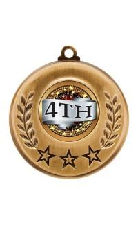 "Spectrum Series Medals, ""4th"""