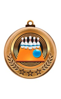 Spectrum Series Medals, 5-Pin Bowling