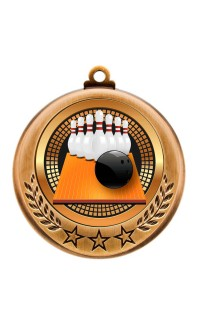 Spectrum Series Medals, 10-Pin Bowling