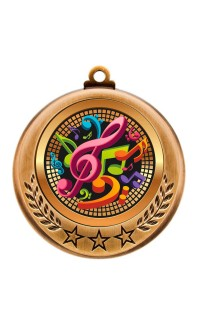 Spectrum Series Medals, Music