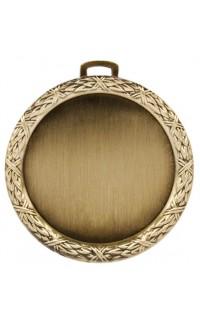 """2"""" Holder (Wreath), Gold"""