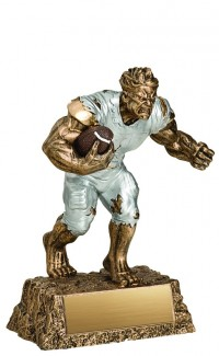 Football Monster Resin, 6.5""