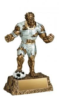 """Soccer Monster Resin, 6.75"""""""
