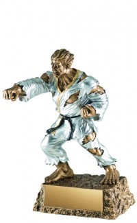 Martial Arts Monster Resin, 6.75""