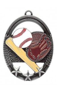 Baseball Tri Star, Silver