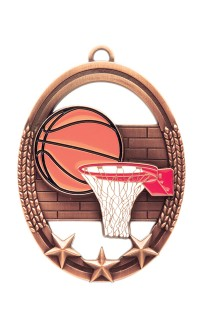 Basketball Tri Star, Bronze