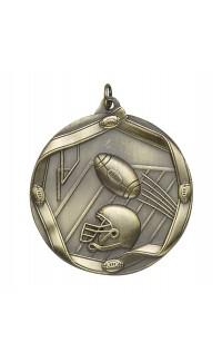 "MEDAL FOOTBALL GOLD 2.5"""