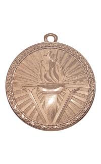 """Medal Triumph 2"""" Dia. Victory, Antique Bronze"""