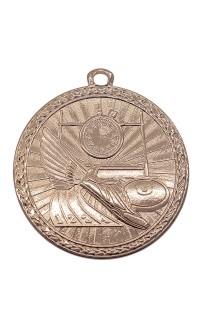 "Track Medal Triumph 2"" Dia. Antique Bronze"