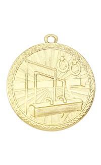 "Medal Triumph 2"" Dia. Gymnastics, Bright Gold"