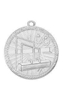 "Medal Triumph 2"" Dia. Gymnastics, Bright Silver"
