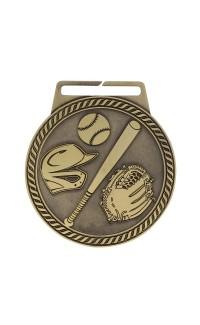 "Medal Titan Baseball 3"" Dia. Gold"