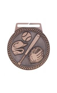 "Medal Titan Baseball 3"" Dia. Bronze"
