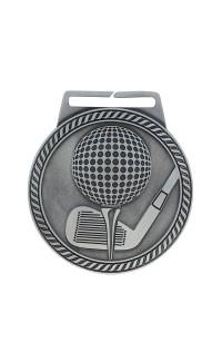 "Medal Titan Golf 3"" Dia. Silver"
