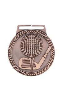 "Medal Titan Golf 3"" Dia. Bronze"