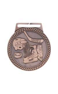 "Medal Titan Hockey 3"" Dia. Bronze"
