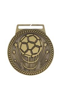 "Medal Titan Soccer 3"" Dia. Gold"