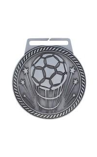 "Medal Titan Soccer 3"" Dia. Silver"