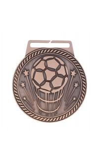 """Medal Titan Soccer 3"""" Dia. Bronze"""