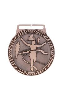 "Marathon Medal Titan 3"" Dia. Bronze"
