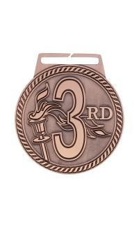 "Medal Titan 3rd 3"" Dia. Bronze"