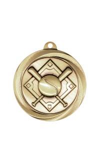 "Medal Vortex 2"" Baseball Gold"