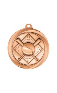 "Medal Vortex 2"" Baseball Bronze"