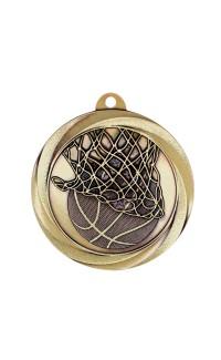 """Medal Vortex 2"""" Basketball Gold"""