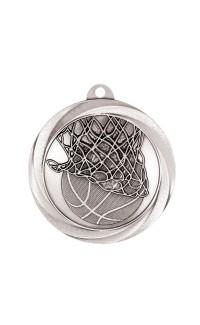 "Medal Vortex 2"" Basketball Silver"