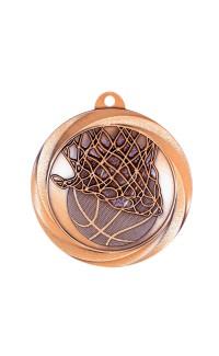 "Medal Vortex 2"" Basketball Bronze"