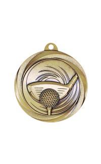 "Golf Medal Vortex 2"" Gold"