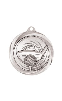 "Golf Medal Vortex 2"" Silver"