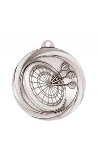 """Darts Medal Vortex 2"""" Silver"""