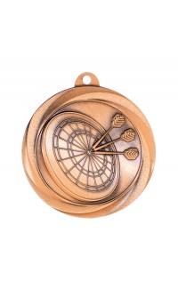 "Darts Medal Vortex 2"" Bronze"
