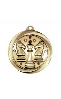 "Chess Medal Vortex 2"" Gold"
