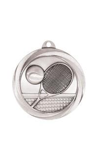 "Tennis Medal Vortex 2"" Silver"