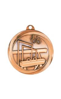 "Gymnastics Medal Vortex 2"" Bronze"